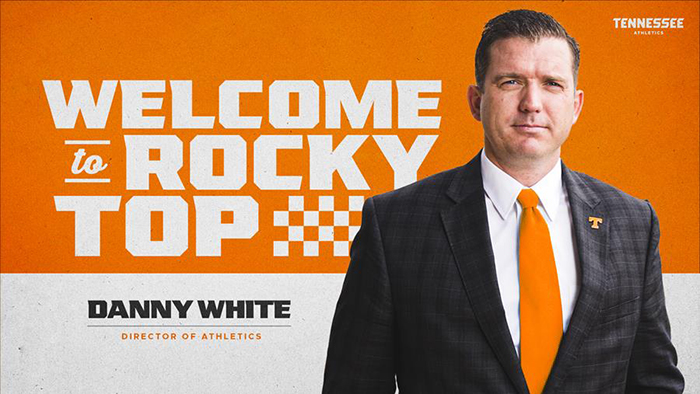 danny white ut athletics director