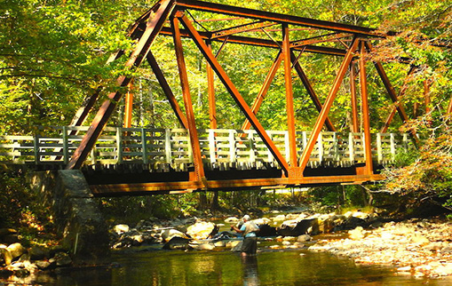 virginia creeper trail bridge